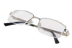 Gläser getrennt auf weißem Hintergrund Lizenzfreies Stockfoto