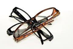 Gläser lokalisiert Lizenzfreie Stockfotos