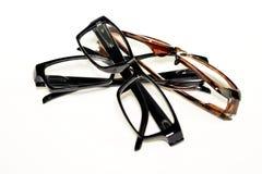 Gläser lokalisiert Stockbilder