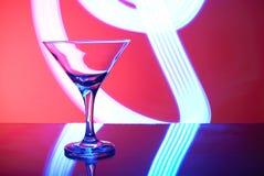 Gläser mit Cocktail in einem Nachtklub Stockfotos