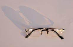 Gläser mit Schatten Lizenzfreies Stockfoto