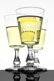 Gläser mit Wein Lizenzfreie Stockfotografie