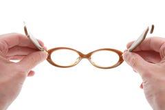 Gläser, Sechzigerjahre Montierung Stockfotos