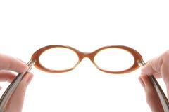 Gläser, Sechzigerjahre Montierung Lizenzfreie Stockfotos