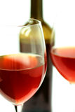 Gläser Wein Stockbild