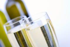 Gläser Wein lizenzfreie stockbilder