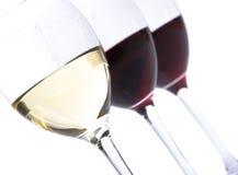 Gläser Wein stockfoto