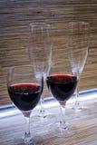 Gläser Wein Lizenzfreie Stockfotos