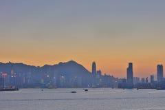 Glättung über Hong Kong 2017 Stockbilder