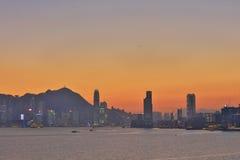 Glättung über Hong Kong 2017 Stockfotos