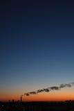 Glättung der industriellen Landschaft Lizenzfreies Stockfoto