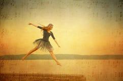 Glättung des Tanzes Lizenzfreies Stockbild