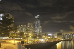 Glåmiga Tsuen, Hong Kong Arkivfoton