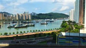 Glåmiga Tsuen, Hong Kong royaltyfri bild