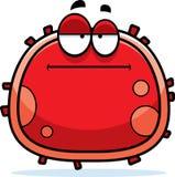 Glóbulo rojo aburrido Imágenes de archivo libres de regalías