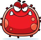Glóbulo rojo enojado Imagen de archivo libre de regalías