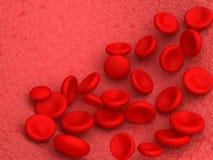 Glóbulos rojos Fotografía de archivo libre de regalías