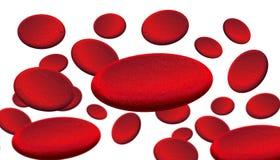 Glóbulos rojos Imágenes de archivo libres de regalías