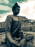 Glória do brilho da Buda fotos de stock