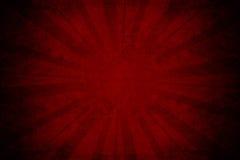 Glöd på rött papper Royaltyfria Bilder