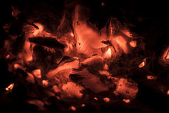 glöda för kol Fotografering för Bildbyråer