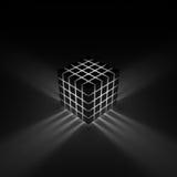 glöda för kub Arkivfoto
