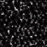 Glödande bakgrund från trianglar Royaltyfri Foto