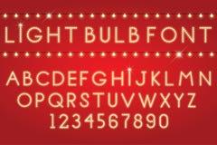 glödande bokstäver Royaltyfri Bild