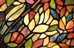 Glödande Glass Art Pattern Royaltyfria Bilder