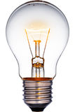 glödande lampa för kula Royaltyfri Foto