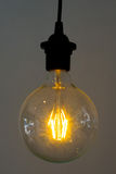 glödande lampor Royaltyfri Fotografi