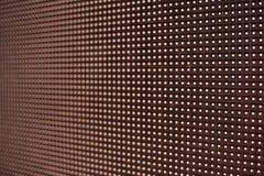 Glödande ledd panel abstrakt bakgrundsred Arkivfoto
