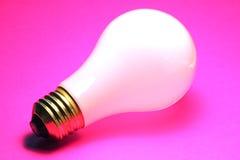 glödande lightbulb Royaltyfria Bilder