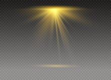Glödande ljus för vit royaltyfri illustrationer