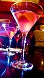 glödande martinis Royaltyfri Foto