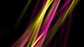 Glödande neonabstrakt begrepp rays den videopd animeringen arkivfilmer