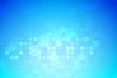 Glödande olik tegelplattabakgrund för blå och ljus turkos stock illustrationer