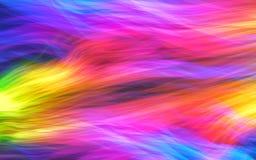 Glödande rörelse och neonrörelse Vektor Illustrationer