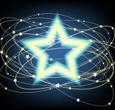 glödande stjärna Royaltyfria Foton