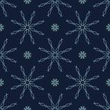 Glödande stjärnor texturerar den sömlösa vektormodellen Utdragen stjärnklar magi vektor illustrationer