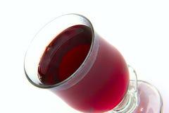 Glödhet jul funderade vin med kryddor Arkivbild