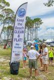 Glömd festival för kusthavssköldpadda arkivbilder