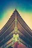 Glömt hörn i Forbidden City Royaltyfria Bilder