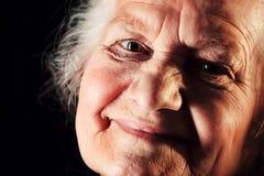 Glück des hohen Alters Lizenzfreies Stockfoto
