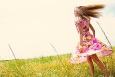 Glück, Sommer Stockbild