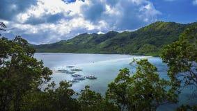 Glück-Strand-Reise, Paradies EL Nido Lizenzfreies Stockfoto