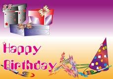 Glücklich-Geburtstags-Hintergrund Stockbilder