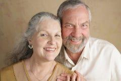 Glücklich geheiratet lizenzfreies stockfoto