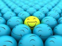Glücklich und Lächeln Lizenzfreies Stockbild