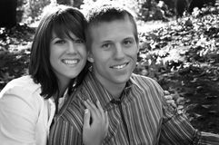 So glücklich zusammen Stockfoto
